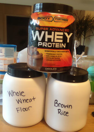 Kitchen Protein Tubs