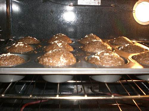Protein Muffin Breads In The Oven