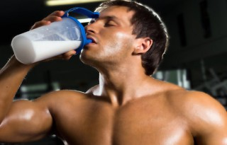 when to drink protein